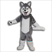 College Husky Mascot Costume